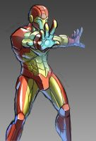 Impression_Iron Man by bigxbadxbob