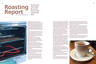 Double pg spread of coffee cup Mag