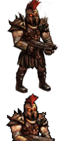 warrior sprite by puppeli