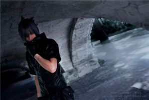In the darkness - Noctis by Narga-Lifestream