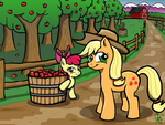 Sweet Apple Orchards by GodOfIrony