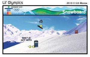 Lil' Winter Olympics 2010-05 by DrOfDemonology