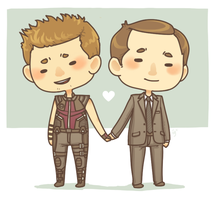 Phil and Clint by Galadnilien