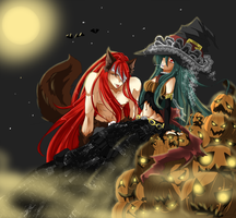 hitogata halloween contest by Bleikiriya