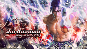 Jin Kazama Wallpaper by ParawkaSaiyan64