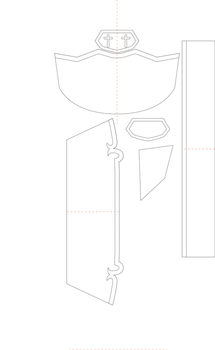 Asuna's armor templates by StealthHamster