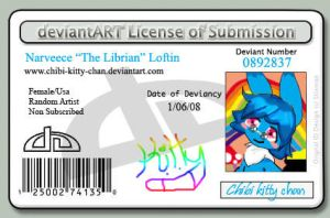 i have a license by Chibi-Kitty-Chan