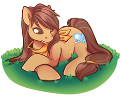MLP: Brown Sugar by strawberryneko33