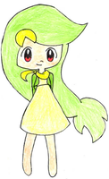 Snivy Gijinka by gaming-fanchild
