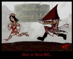 Only in Silent Hill... by Thevakien