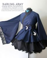 Princess Luna - MLP - Cosplay Kimono Dress by DarlingArmy