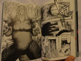 Godzilla 2000 Manga Shot 6 by GIGAN05