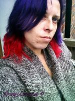 new hair colour again by frogslave69