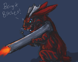 Bring it Bitches by firedanceryote
