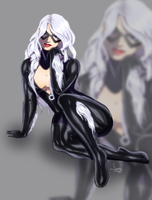 Black Cat by JeyraBlue