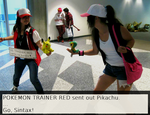 Trainer Red would like to Battle by Insanity-wolf