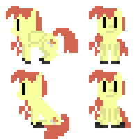 Shooting Star Sprite Sheet -REQUEST 02- by Zztfox