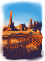 desert speed paint by RianaLD