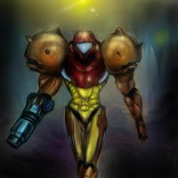 Samus by BinaryDood