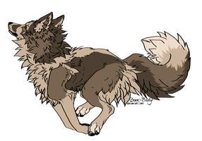 Wolf/Canine Adoptable :CLOSED: by Okami-Heart
