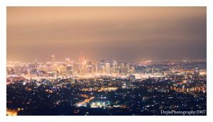 Above The Summer City Lights by Dejas
