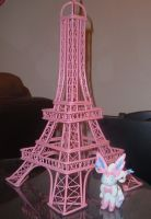 Sylveon in Paris by BrittanyLischka