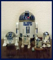 R2D2 collection by GascoonSan