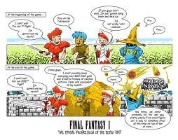 Final Fantasy 1 Comic by BrainslugComics