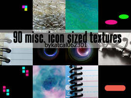 90 Misc. Icon Sized Textures by hermyonegranger