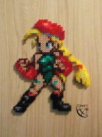CSW Cammy STF Perler Beads by Cimenord