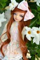 a flowery day in the garden by prettyinplastic