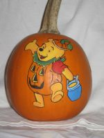 And another Pooh in Pumpkin by pumpkinmaster