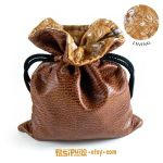 Caffeinated Corollary Drawstring Pouch by Pasiphilo