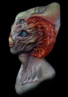 Alien Bust by mirandajory