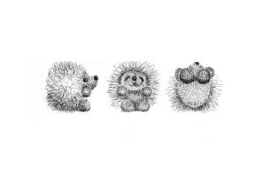 Three Hedgehogs by living2prove