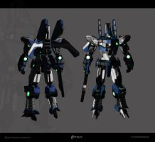 The AXN-01 PHOBOS by UEGProductions