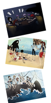 MM: Beach Vacation Compilation by Ushimipan