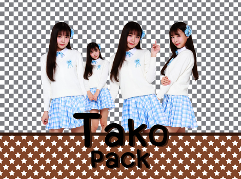 Tako (SNH48) PNG (render) pack by snh48