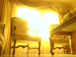 Lighted room'gold' by ahmedyousri