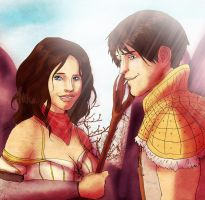 Carver and Bethany by PetiteLilen