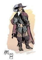 Athos, the noble by MrHarp