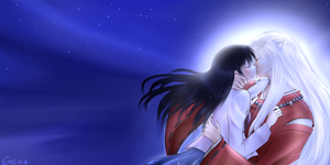Inuyasha - Kiss by Etrilya