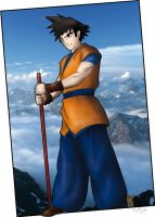 Goku in color by Matthieu-G