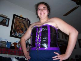 Duct Tape Corset by stardove3