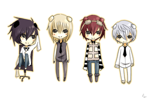 Death Note: Little Bear Famiry by yu-nomii