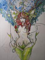 Poison Ivy WIP 2.3 by weshoyot