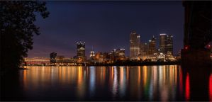 The City By The Glowing River by mastermayhem