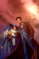 Doctor Who color by cehnot