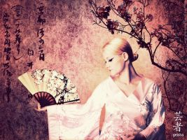 Geisha - beautiful but lonely by shortdesigns-x