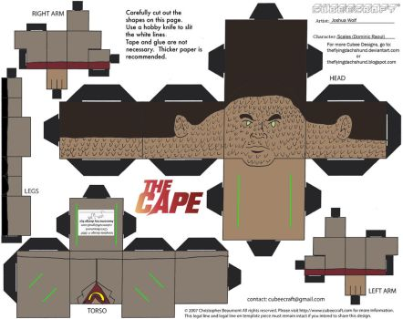 TheCape1: Scales Cubee by TheFlyingDachshund